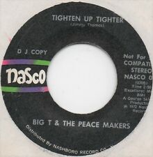 Big T & Peace Makers - Tighten Up Tighter (Nasco US Demo) 45 Northern Soul Funk