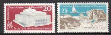 Germany / DDR - 1960 Fair Leipzig - Mi. 781-82 MNH