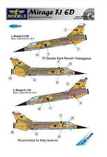 LF Models Decals 1/48 DASSAULT MIRAGE F-1 ED Libyan Air Force w/Resin Tail Piece