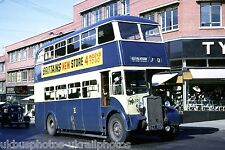 Rotherham Corporation 190 EET890 Crossley Bus Photo Ref P683