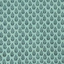 Crafting Hand Block Print Cotton Cambric Decorative Sewing Fabric By 1 Yard