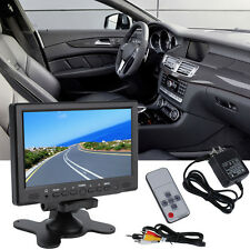 7Inch 800x 480 TFT Color LCD AV Vehicle Car Rearview Monitor HDMI VGA AV F7