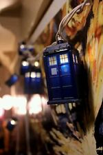 NEW Doctor Who Tardis Christmas Police Box String 10 Lights 9ft Long In Outdoor