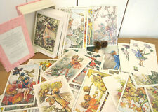 Collectable Flower Fairies 100 One Hundred Postcard Box Set Cicely Mary Barker