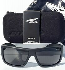 NEW* Arnette HAZARD in MATTE Black frame w Grey Lens Sunglass! 4167-01/87 $140