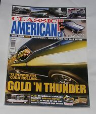 CLASSIC AMERICAN AUGUST 2009 NO.220 - GOLD 'N THUNDER/'55 THUNDERBIRD/OLDSMOBILE
