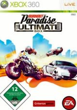 Xbox 360 Burnout Paradise Ultimate box alemán utilizada