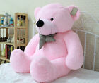 GIANT 95CM BIG CUTE PLUSH TEDDY BEAR HUGE SOFT 100% PP COTTON TOY