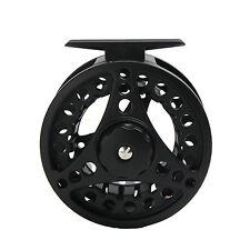 Fly Fishing Reel with CNC-machined Aluminum Alloy Body TROUT 2+1BB 3/4 Black
