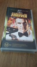 DIAMONDS ARE FOR EVER 007 James Bond - SEAN CONNERY,1971  VHS VIDEO TAPE