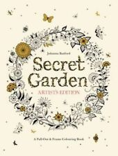 Secret Garden Artist's Edition: A Pull-Out and Frame Colouring Book by...