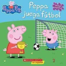 Peppa Pig: Peppa Juega Fútbol (2016, Paperback)