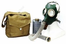 Original set Russian soviet Green gas mask GP-4 with hose. New all sizes 1 2 3