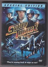 Starship Troopers 2 Hero of the Federation Special Edition DVD