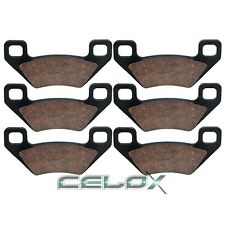 Front Rear Brake Pads For Arctic Cat 700 H1 EFI 4x4 2009 2010