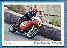 MOTO - Ed. Raf - Figurina/Sticker n. 141 - AERMACCHI ALA D'ORO 350 -Rec