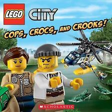 Lego City: Cops, Crocs, and Crooks! by Trey King and Kenny Kiernan (2015,...