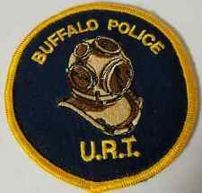 Buffalo Police Department URT Underwater Recovery Team Cloth Patch