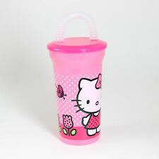 Character Drinking Cup & Straw - Hello Kitty