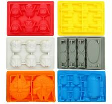 Star Wars Silicone Ice Trays / Chocolate Candy Molds Set of 6