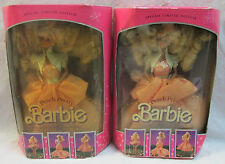 NRFB SPECIAL LIMITED EDITION 1989 PEACH PRETTY BARBIE DOLL #4870 MATTEL