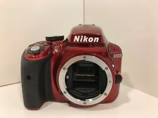 Nikon D D3300 24.2 MP Digital SLR Camera - Red (Body Only)