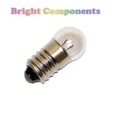 2x MES Miniature Lamp Light Bulb : 6V 40mA : 11mm : E10 : 1st CLASS POST
