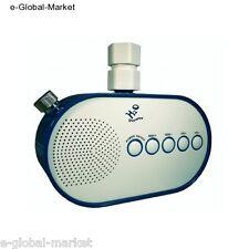 Radio Shower FM Waterproof Bathroom Speaker Bath Music Flow Water Power Turbine