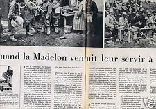 Coupure de presse Clipping 1964 Les Vins Postillon & la Madelon (2 pages)