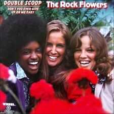 "7"" THE ROCK FLOWERS Double Scoop WHEEL Sunshine Pop / Bubblegum MATTEL USA 1972"