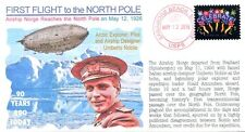 COVERSCAPE computer designed 90th anniversary Nobile flight to North Pole cover