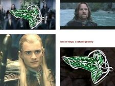 Lord Of The Rings Aragorn's Barahir LOTR Costume Leaf Brooch Jewellery Pin