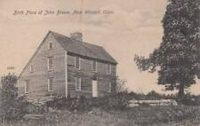 Antique POSTCARD c1907-20 Birth Place of John Brown near WINSTED, CT 14119