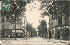 PARC St-MAUR (94) - Rue de la République prise de la Place de la Gare