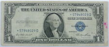 1957 Series US $1 One Dollar Star Note Silver Certificate Small Note P254070