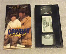 Cowboy Angel (VHS, 1993) Family Movie Guardian Angel Young Boy Future Destiny