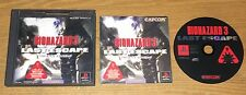 BioHazard 3 Last Escape Playstation Game Complete Fun Japan Import Resident Evil