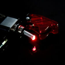 Car Auto Engine Start Button Switch Ignition Starter 1 Red LED Toggle Button 12V