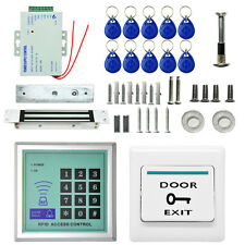 2200 LBs Kit Electric Door Lock Magnetic Access Control Card Password System UW