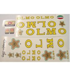 Olmo decal  set for Campagnolo vintage bike resto new