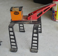 Vintage 1930s O Scale Marx Metal New York Central Gantry Crane