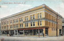 MANCHESTER NEW HAMPSHIRE CANARD BLOCK NELSON 5 & 10 STORE POSTCARD c1910s