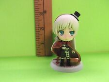 "To Aru Majutsu No Index Lady Lee Tangleroad 2.5""in Figure Black Top Hat Red Cape"
