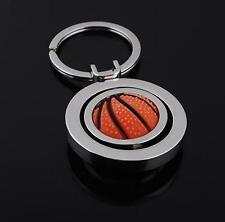 Rubber Metal Rotary Basketball Key Chain Gift Key Chain Key Chain Accessories