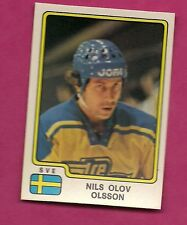 VERY RARE 1979 PANINI TEAM SWEDEN NILS OLOV OLSSON  HOCKEY STICKER