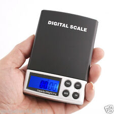 Handy POCKET Size Small Mini Digital Weighing Weigh Scale 0-1g-1kg measurement