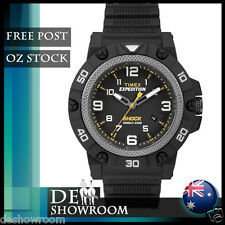 "Timex Men's ""Expedition"" Resin Watch, Shock Resistant, TW4B0100 -Free Post in AU"