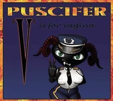 FREE US SHIP. on ANY 2 CDs! NEW CD Puscifer: V Is for Vagina Import