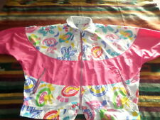 WOMENS VINTAGE 80'S NIKE ELITE WINDBREAKER SIZE LARGE!!SUPER RETRO!!