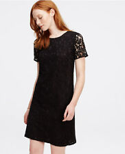 Ann Taylor – Size 8 Black Lace Shift Dress $139.00 (H)